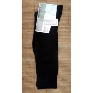 Chaussettes en bambou Mi-bas Rando/travail (2 paires) - noir