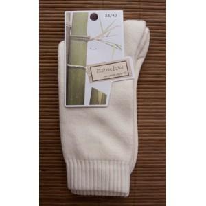 Chaussettes en bambou Rando/travail (2 paires) - écru