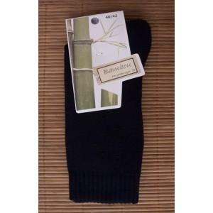 Chaussettes en bambou Rando/travail (2 paires) - noir