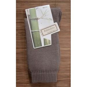 Chaussettes en bambou Rando/travail (2 paires) - taupe
